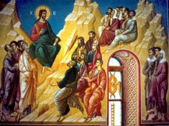Sermon on the Mount Beatitudes Icon